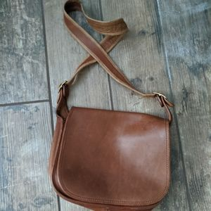 Coach   Vintage Crossbody Brown Leather MADE IN US